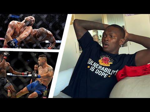 Israel Adesanya Reacts To CRAZY UFC 261| Talks Marvin Vettori Rematch