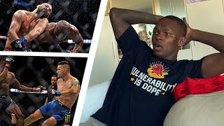Israel Adesanya Reacts To CRAZY UFC 261| Talks Marvin Vettori Rematch