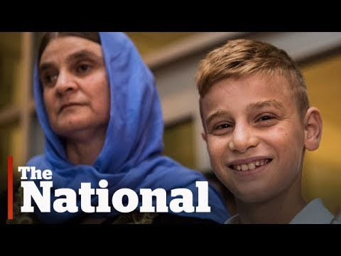 Yazidi boy held captive by ISIS reunited with mother in Winnipeg