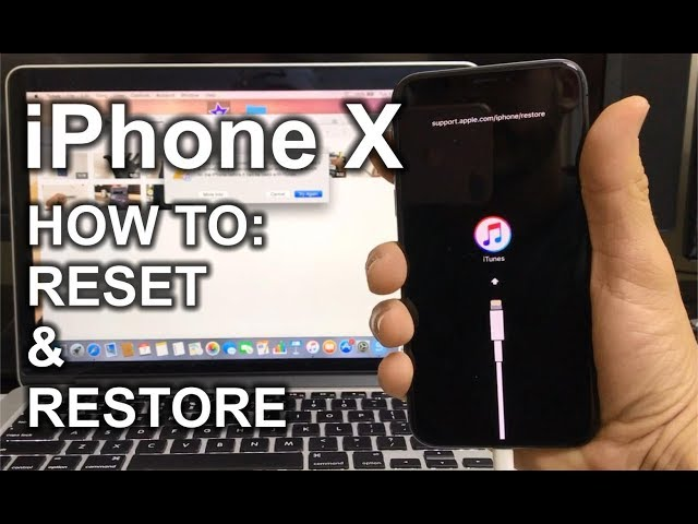 How To Reset The iPhone (Hard, Soft and For All iOS Versions)
