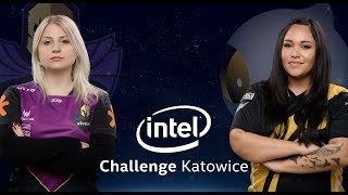 CS:GO - KeydStarsFemale vs. Dignitas [Overpass] - Group A Winners - Intel Challenge Katowice 2018