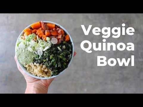 How to Make a Veggie Quinoa Bowl with Tahini Sauce | Livestream