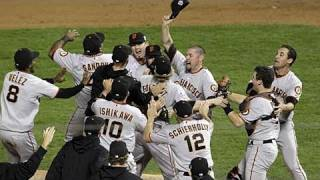 Giants World Series Champs for 2010! - MLB Baseball - JRSportBrief