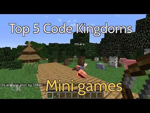 Top 5 Mini Games - Code Kingdoms Minecraft Modding