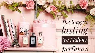Jo Malone London: The Three Longest Lasting Perfumes // Fragrances with Longevity!