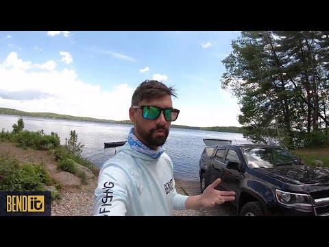 Lake Massabesic Bass Fishing- Perch Swim Bait Does The Trick