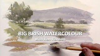 Big Brush Watercolour: Ron Ranson