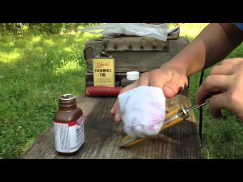 wooden knife handle oil 2