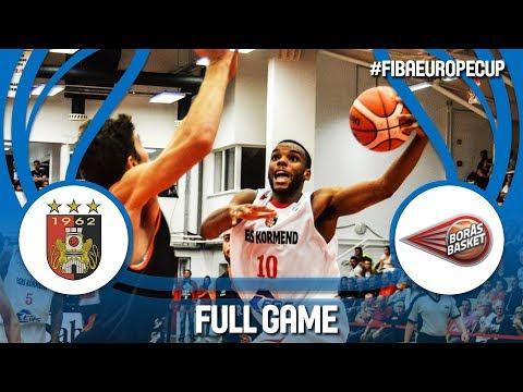 Egis Körmend (HUN) v Boras Basket (SWE) - Full Game - FIBA Europe Cup 2017-18