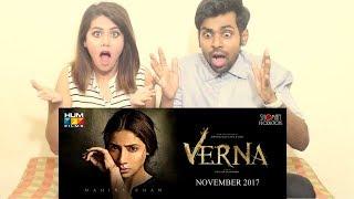 BEST INDIAN REACTION ON LATEST PAKISTANI MOVIE    INDIAN COUPLE REACTS ON VERNA MOVIE    MAHIRA KHAN