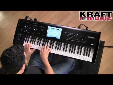 Kraft Music - Korg Kronos X Demo with Rich Formidoni
