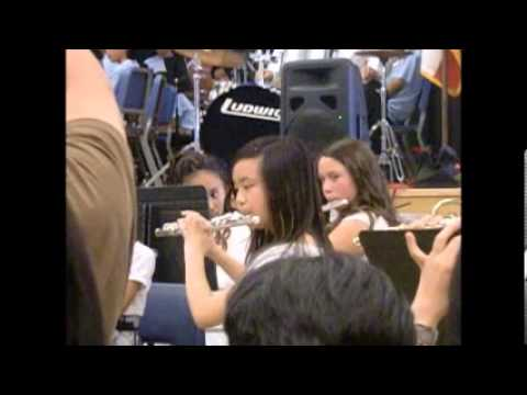My Music Concert at Bell Middle School 2013