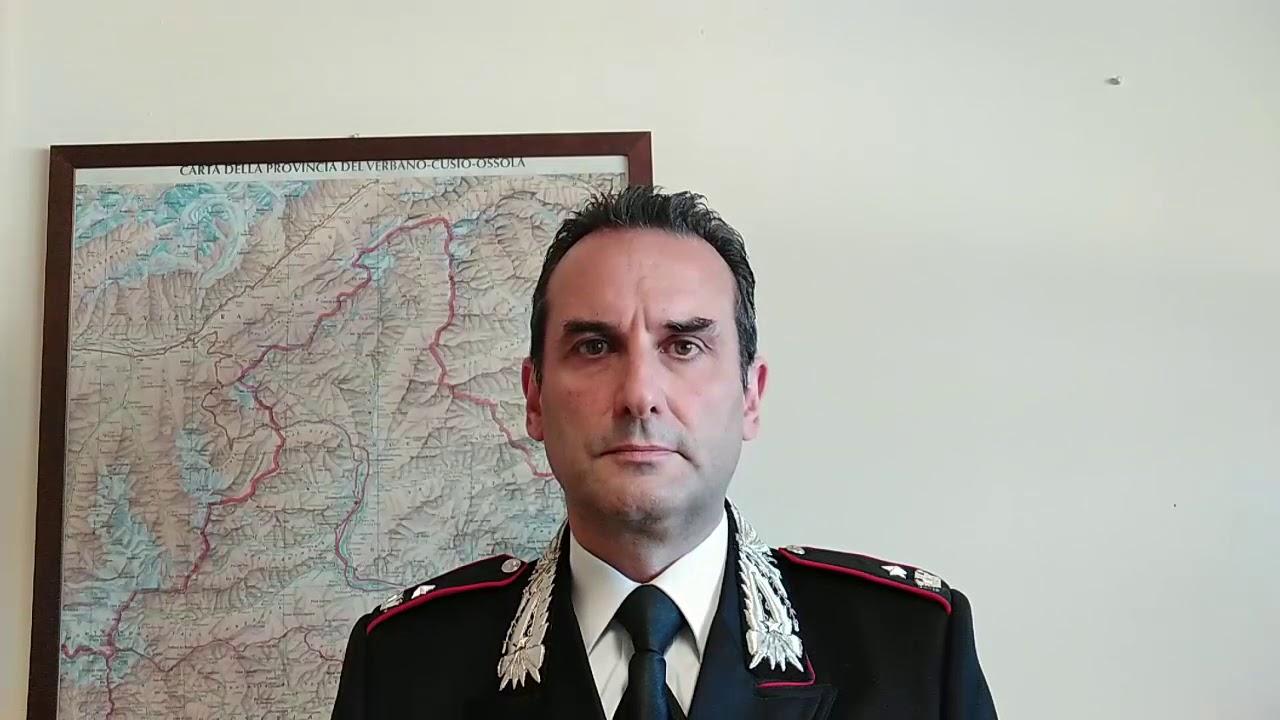 Operazione Incognito - maggiore Stefano Covolo comandante Investigativo Verbania