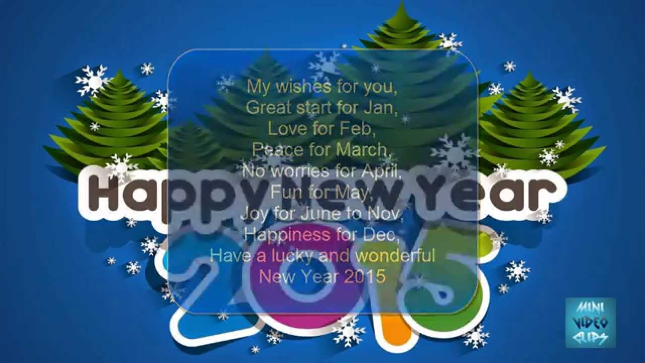Ideas For Happy New Year 2016 Greeting Cards For Whatsapp Facebook