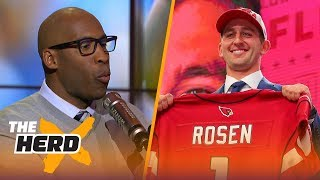 Bucky Brooks on Baker Mayfield to Browns, Josh Rosen's angry comments and Lamar Jackson | THE HERD