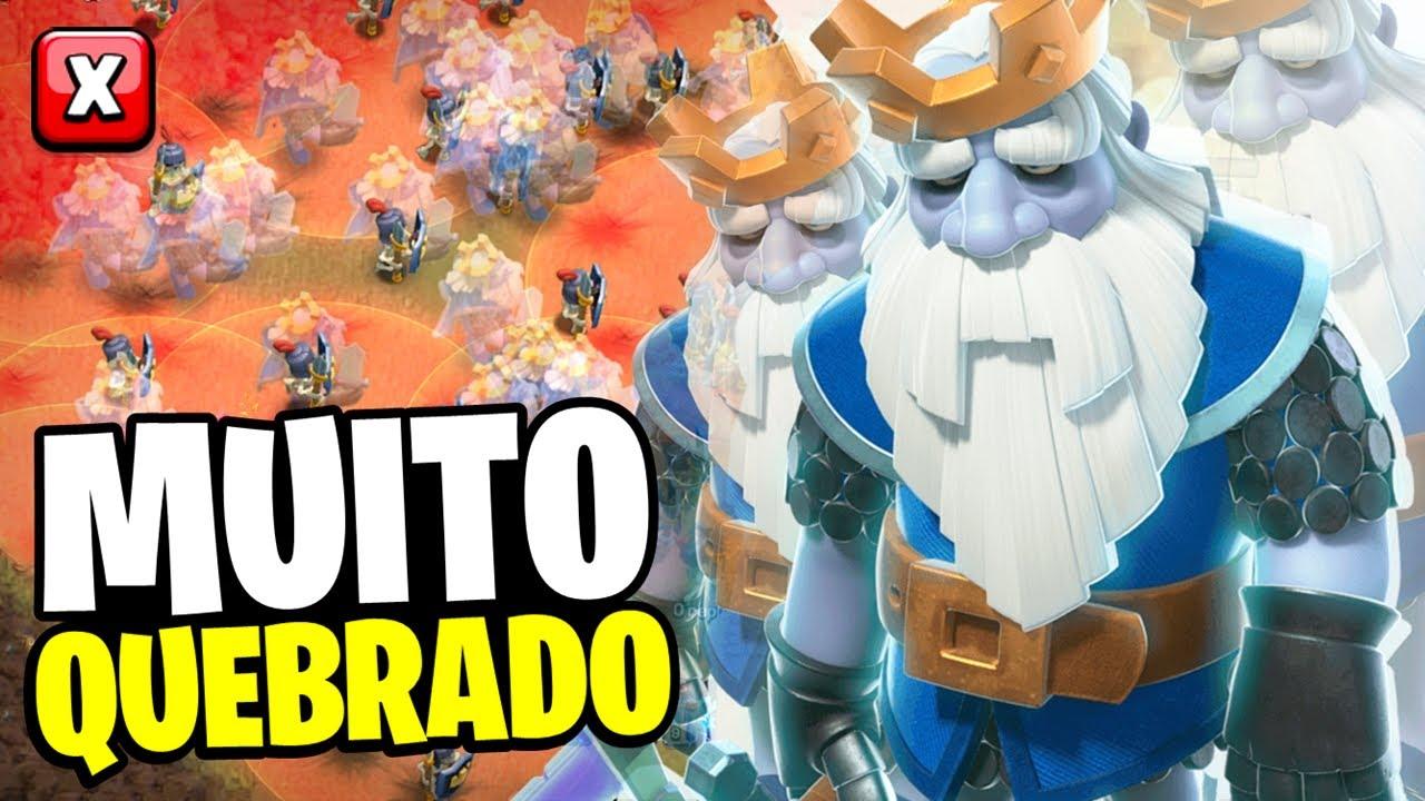 """A TROPA MAIS """"QUEBRADA"""" DO CLASH OF CLANS! FIQUE FULL RECURSOS RAPIDAMENTE USANDO ELA!"""
