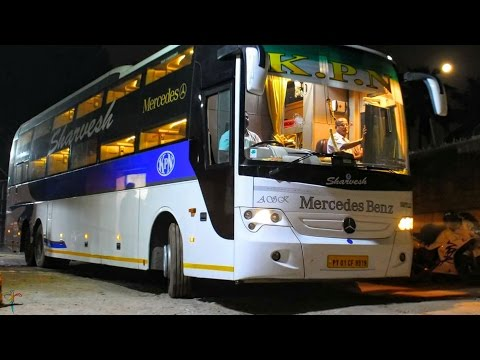 Mercedes Benz Sleeper Bus | KPN Travels | #RCBuses | India