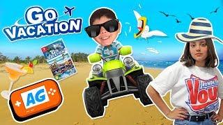 Jugamos a Go Vacation y Manuel la LÍA PARDA!