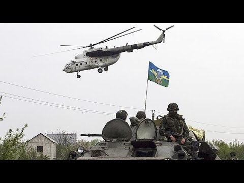 Pilots killed as rebels shoot down Ukraine helicopters over Slovyansk