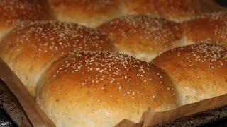 Hamburger Brötchen Selber Machen || Homemade Hamburger Buns || [ENG SUBS]