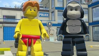 LEGO City Undercover - Police Station 100% Guide + Super Minifigure Cheat (100% Game Completion)