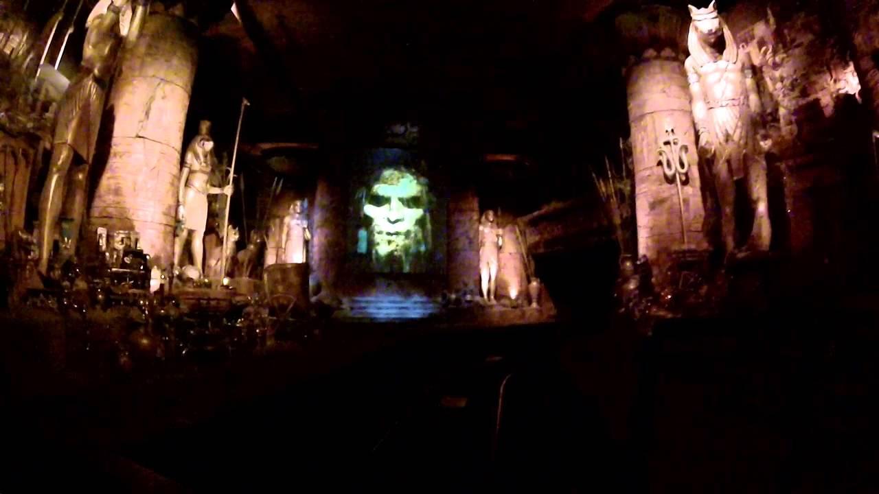Revenge Of The Mummy Orlando Lights On