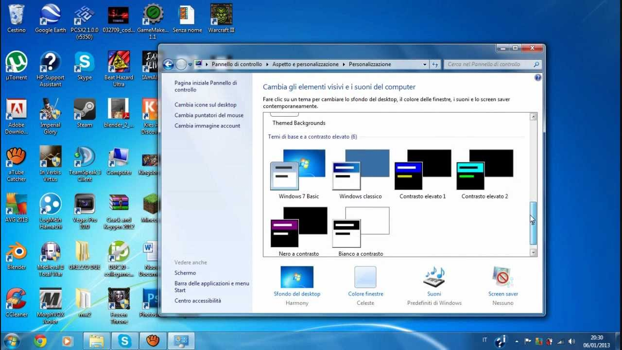 puntatori windows 7