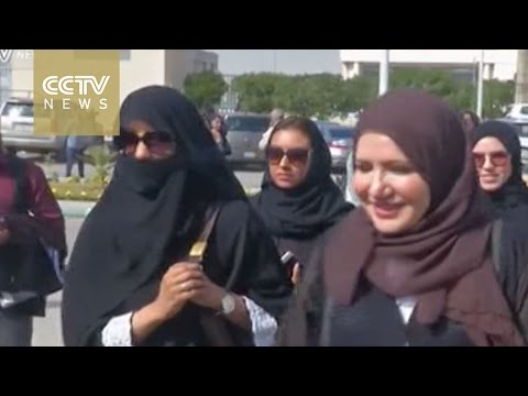 Saudi Arabia allows women to vote for first time