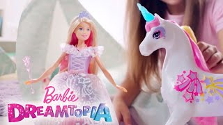 Behind the Scenes with Barbie Doll and the Barbie™ Dreamtopia Brush 'n Sparkle Unicorn | Barbie
