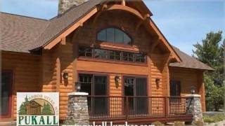 Pukall Log Homes Design Center In Northern Wisconsin