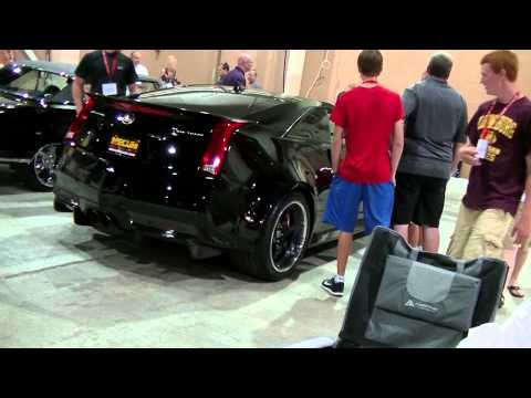 Hennesey Cadillac CTS-V start-up and driveaway