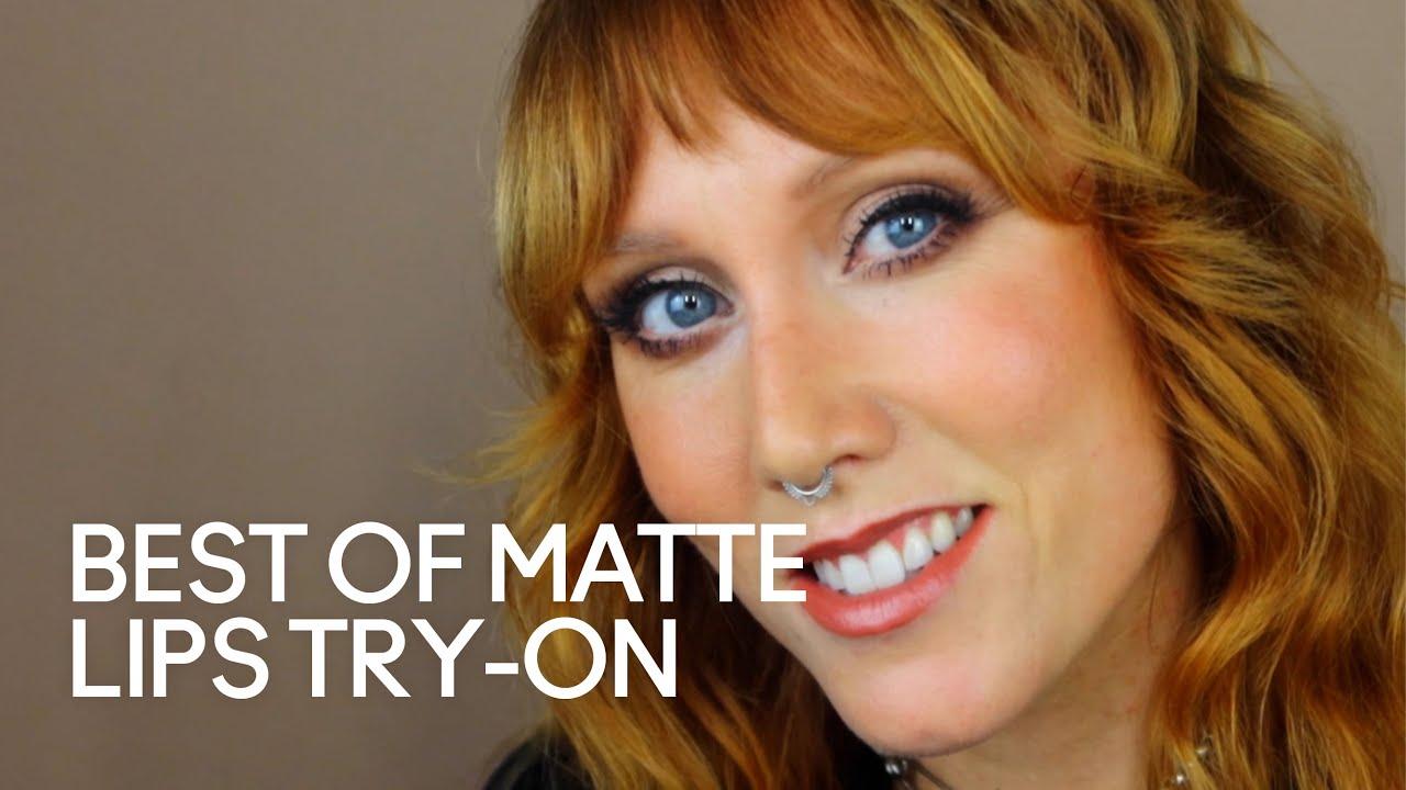 Best of Matte Lips Try-On | MAC Cosmetics