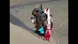 DAKAR RALLY 2018 Sand dune   - Perú