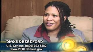 US Census 2010, Monica Banks-Hines and Dionne Hereford