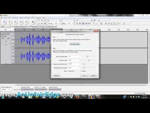 How to Remove Room Noise in Audacity