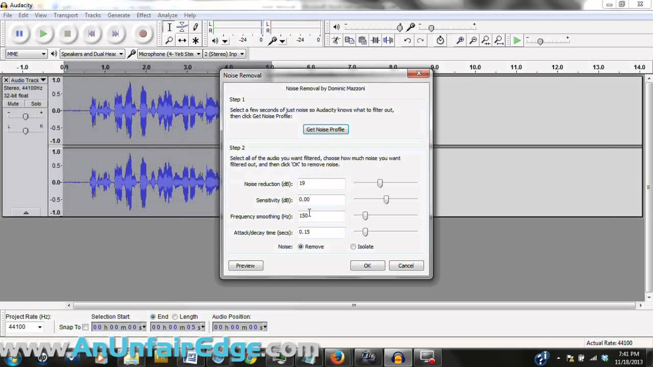 Watch How to Remove Echo from Audio video