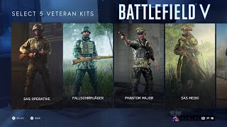 Battlefield V Deluxe Edition Uniforms and Assignments