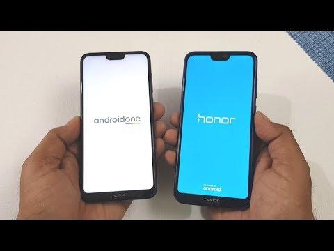 Nokia 6.1 Plus vs Honor 9N Speed Test   Display   Benchmarks   Fingerprint & Camera Test !