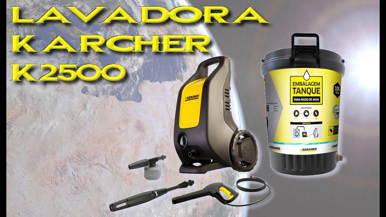 Lavadora De Alta Pressão Karcher K2500 By Adilson Pinheiro