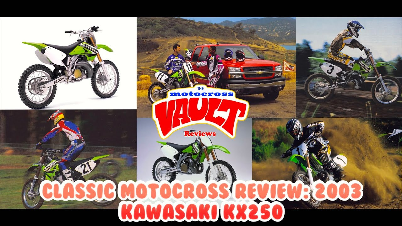 Classic Motocross Review: 2003 Kawasaki KX250