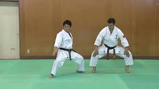 Jyu no Kata 1 Kyokushin kan