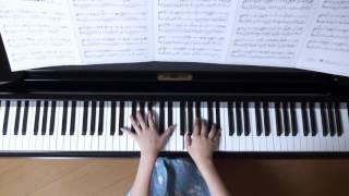 使用楽譜;ぷりんと楽譜・中級、 2016年10月10日 録画.