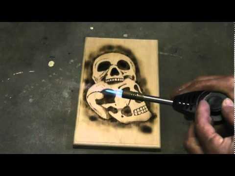 Woodburning Skulls Part 3 Shading Youtube