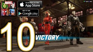 MARVEL Strike Force Heroes Android iOS Walkthrough - Part 10 - Villains Unites: Chapters 2-3
