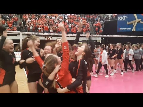 Young Bobcats Advance To Iowa High School State Volleyball Final