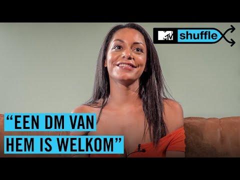 """JAMECIA (EOTBDD): """"Ik wil wel een beschuitje eten met…""""   MTV SHUFFLE"""