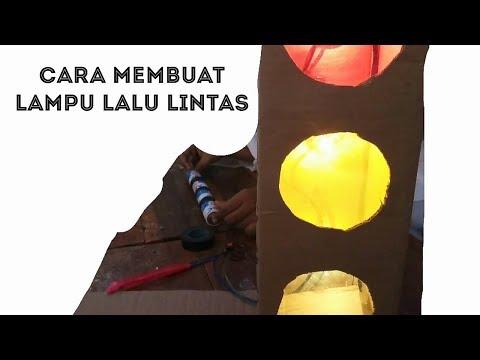 Tutorial Cara membuat Lampu Lalu Lintas sederhana - trafic light.