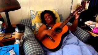 arkila singing old marshallese song from long time ago