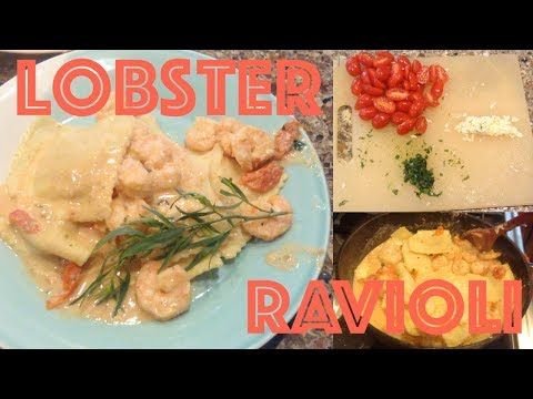 LOBSTER RAVIOLI TOPPED WITH SHRIMP | Using HelloFresh