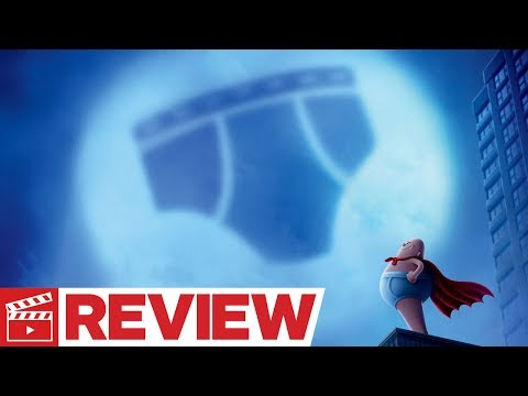 Captain Underpants: The First Epic Movie Review (2017)